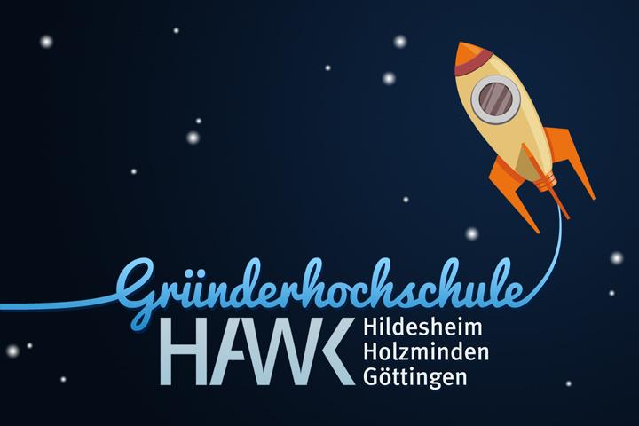 HAWK fliegt Logo-Entwurf - Rakete