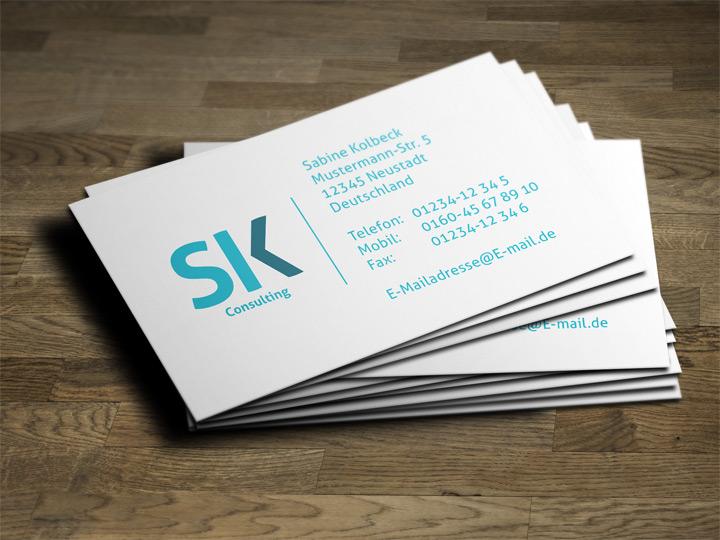 SK Consulting Visitenkarte