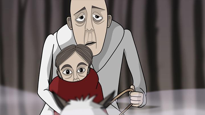 Standbild des Animationsfilms 'Der Erlkönig' - Bild 3