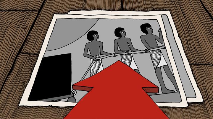 Andersen Lighting - Im alten Ägypten - Storyboard - Bild 1