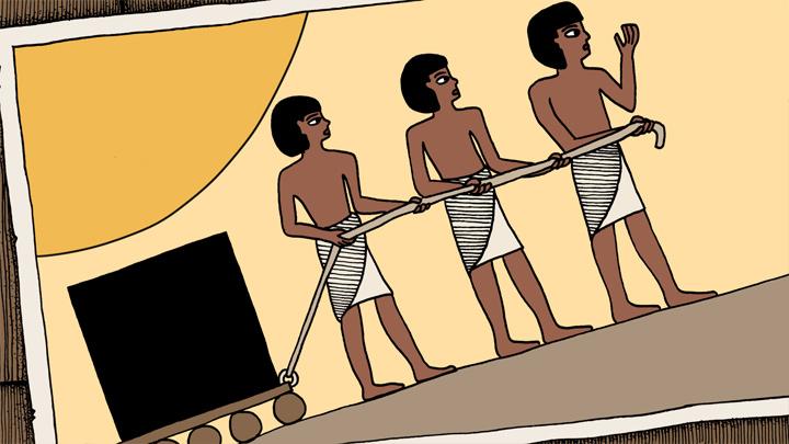 Andersen Lighting - Im alten Ägypten - Storyboard - Bild 2